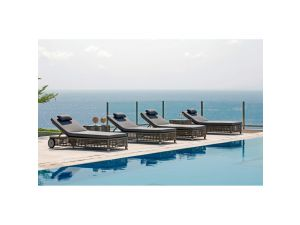 Skyline Castries Rattan Lounger