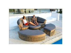 Skyline Castries Rattan Day Bed