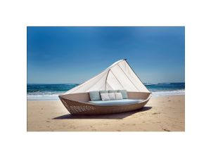 Skyline Rattan The Boat Day Bed