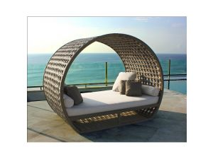Skyline Rattan Moon Light Day Bed
