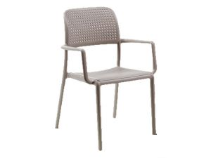 Europa Bora Turtle Dove Resin and Fibre Glass Dining Chair (Pack of 2)