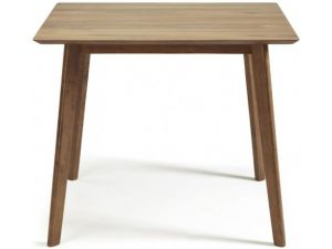 Serene Westminster Walnut Small Fixed Dining Table