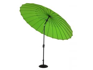 Hartman 2.7m Shanghai Parasol in Lime With Silver Pole