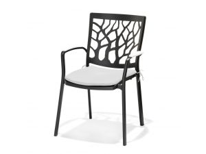 Westminster Tree Stacking White Armchair