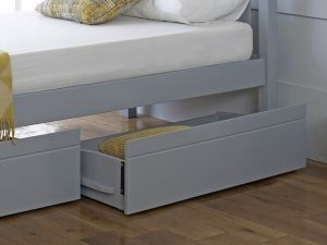 Limelight Despina Grey Wooden Bed Drawers