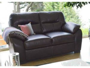 Matteo Brown Leather 3+2 Seater Sofa Set