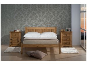 Birlea Rio 4ft Small Double Pine Bed