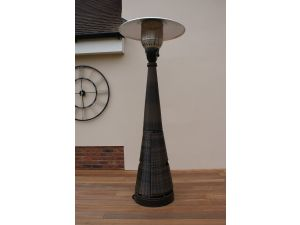 Maze Rattan Gas Patio Heater - Brown