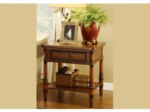 Stanford Antique Wooden Walnut End Table