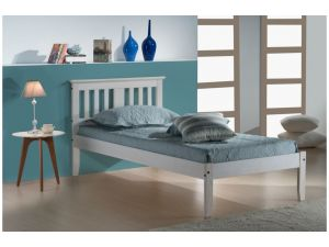 Birlea Salvador 3ft Single White Pine Bed