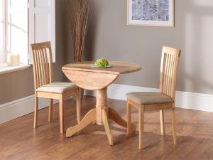 Brecon Natural Wooden Dining Table