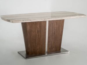 Stonewood Cream Marble 180cm Dining Table