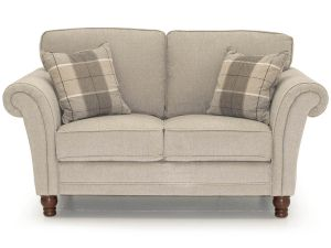 Helmsdale Pewter 2 Seater Fabric Sofa