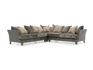 Hyde Claret 2 Seater RAF Fabric Corner Group