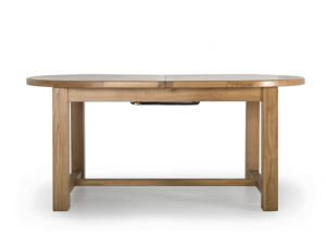 Hampshire Oak Extending 180-220 Oval Dining Table
