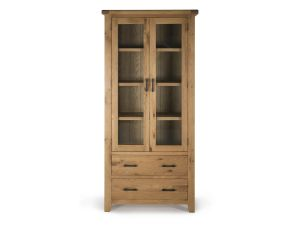 Hampshire Oak Display Cabinet