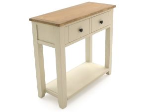Rochelle Two Tone Wooden Console Table