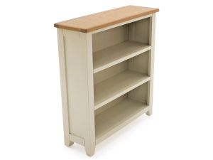 Rochelle Two Tone Wooden Low Bookcase