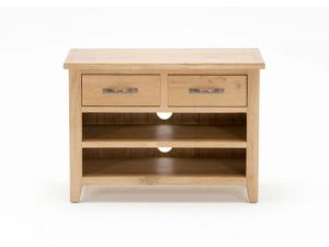 Klara Solid Oak Small TV Unit
