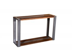 Tampico Wooden Console Table