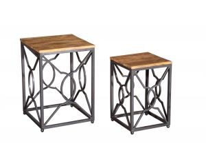 Tangier Acacia Nest of Tables