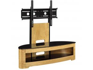 Jual Cantilever Oak TV Stand JF209
