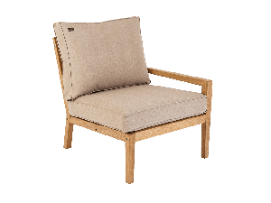 Alexander Rose Roble Wooden Right End Lounge