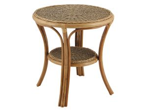 Habasco Countess Round Table In Seagrass