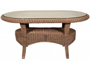 Habasco Borneo Oval Dining Table