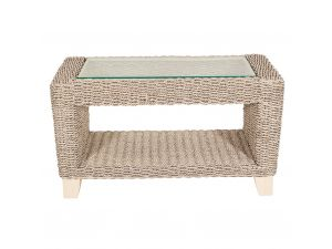 Habasco Samui Coffee Table in Pearl Wash