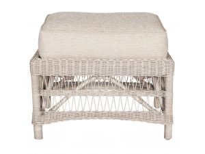 Habasco Provence Footstool in Pearl Wash