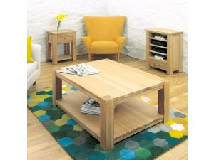 Baumhaus Aston Oak Coffee Table Large
