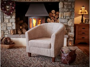 Jubilee Mink Fabric Accent Chair
