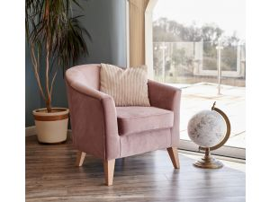 Galway Heather Fabric Accent Chair