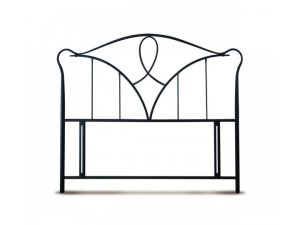 Limelight Carme 6ft Super King Size Black Metal Headboard