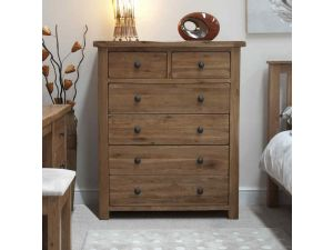 Rustic Oak 2 Over 4 Chest