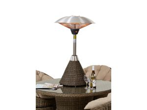 Maze Winchester Rattan Table Top Heater