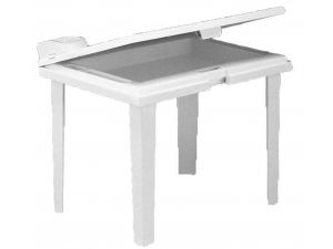 Europa Aladino Kiddy Table White