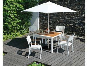 Westminster Halo 2 X 2M Square Natural Parasol