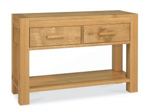 Bentley Designs Lyon Oak Console Table