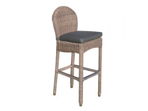 Bridgman Ohio Rattan Bar Stool And Standard Seat Cushion