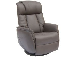 Sorrento Espresso Leather Electric Recliner Armchair