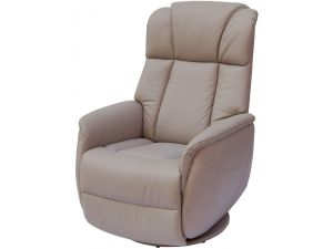 Sorrento Pebble Leather Electric Recliner Armchair