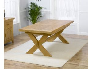 Avignon Extending Solid Oak Dining Table Extends to 240cm