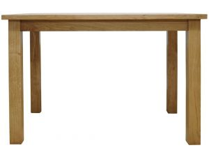 Watford Oak Large Fixed Top Dining Table