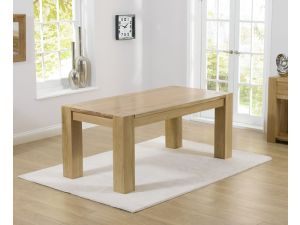 Tampa 300cm Solid Oak Rectangular Dining Table