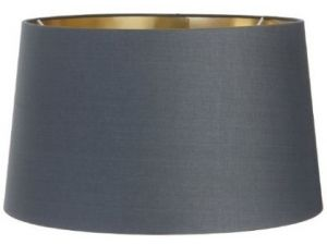 RV Astley Charcoal Shade With Gold Lining 34cm