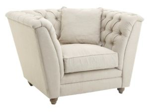 RV Astley Charee 1 seater Natural Armchair