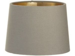 RV Astley Soft Brown Shade With Gold Lining 15cm Clip