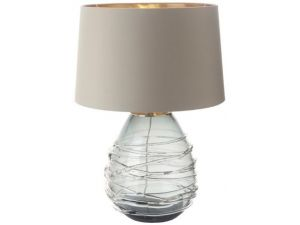 RV Astley Veliky Smoke Glass Table Lamp (Base Only)
